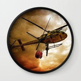 TRUE HEROES III Wall Clock