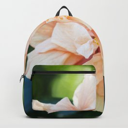Jane Cowl Tropical Hibiscus Backpack