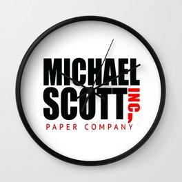 Michael scott Wall Clock