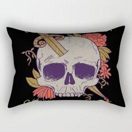 Yet Another Skull Shirt Rectangular Pillow