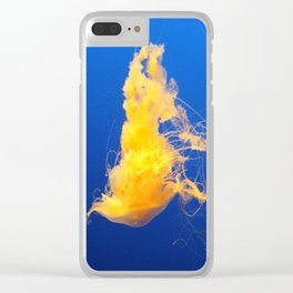 Egg Jellyfish Clear iPhone Case