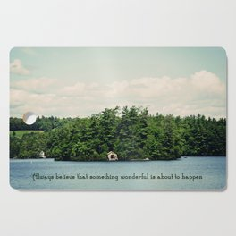 Something Wonderful Cutting Board