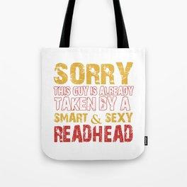 SEXY REDHEAD Tote Bag