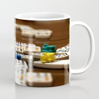 mexican Mugs featuring Mexican Train by Shawn King