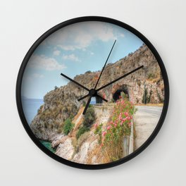 Beauty By The Road HDR Wall Clock