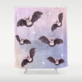 ✞ Bat ✞ Shower Curtain