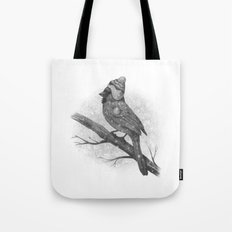 First Snow (monochromatic) Tote Bag