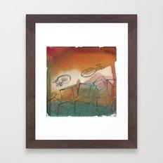 Captain's Migraine Framed Art Print