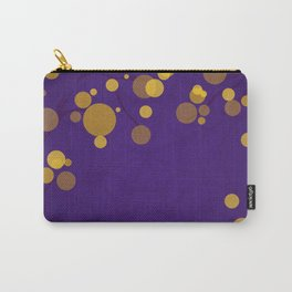 Purple and Gold - Halloween Carry-All Pouch