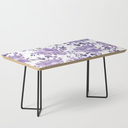 Bouquet of Purple Roses Coffee Table