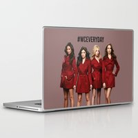 pretty little liars Laptop & iPad Skins featuring #WCEveryday Pretty Little Liars cast by Illuminany