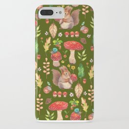 Red mushrooms and friends - GBG iPhone Case