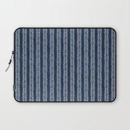 Mud cloth - Navy Arrowheads Laptop Sleeve