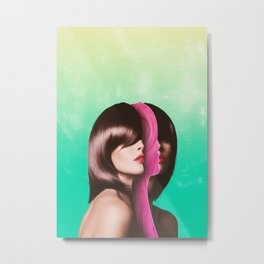 Split Hairs Metal Print