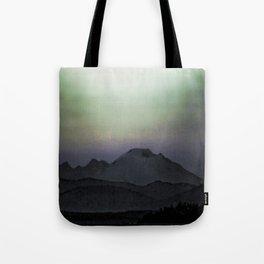 Les Montagne Gothique Tote Bag