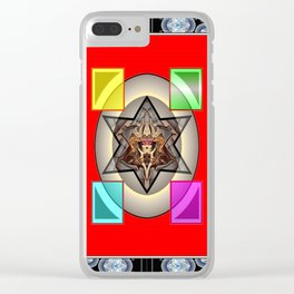 *Transcending Stars* Clear iPhone Case