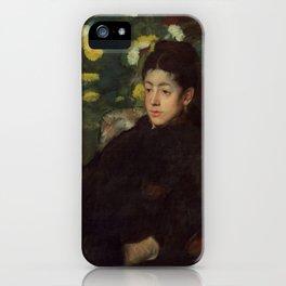 Mademoiselle Malo iPhone Case