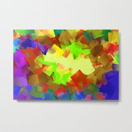 Abstract cubism -5- Metal Print