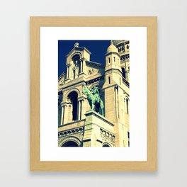 Sacré Cœur (Sacred Heart) Framed Art Print
