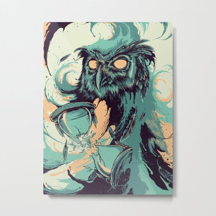 The Wisdom Of Time Metal Print
