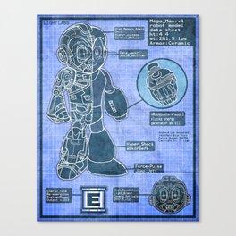 Build Your Own Mega Robot! Canvas Print