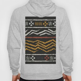 African Tribal Pattern No. 84 Hoody