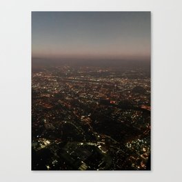 Above San Jose Canvas Print