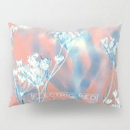 ELECTRIC RED Pillow Sham