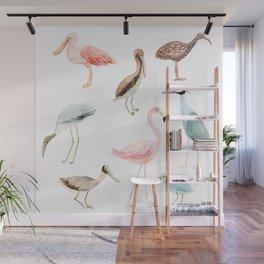 Tropical birds Wall Mural