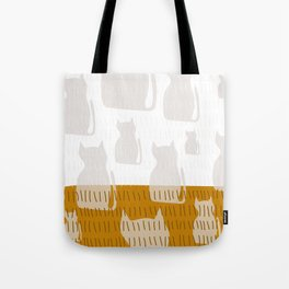 Coit Cat Pattern 4 Tote Bag