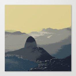 Sugarloaf Mountain Morning Canvas Print