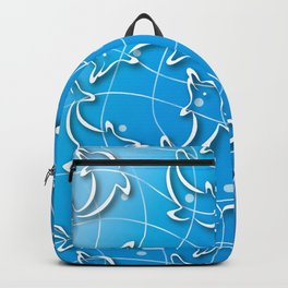 Dolphins rotating on the Wave_D Backpack