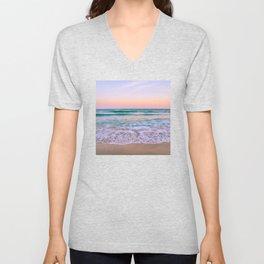 Ocean and Sunset Needed Unisex V-Neck