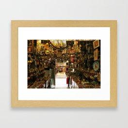 Vintage Store! Framed Art Print
