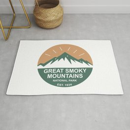 Great Smoky Mountains National Park Rug