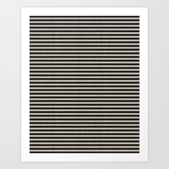 Stripes. Art Print