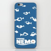 finding nemo iPhone & iPod Skins featuring Finding Nemo by Citron Vert
