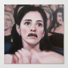 Portrait of Sarah Silverman Canvas Print