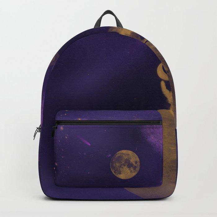 Galactyc Cat Backpack