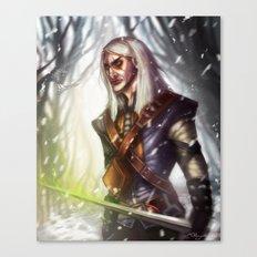 Geralt of Rivia Canvas Print