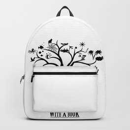 Grow Your Mind with a Book Backpack