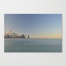 Chicago skyline #1 Canvas Print