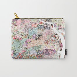Arlington map Carry-All Pouch