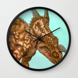 Einiosaurus Wall Clock