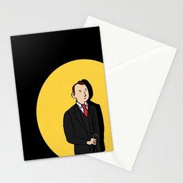 Tintin style Mycroft Stationery Cards