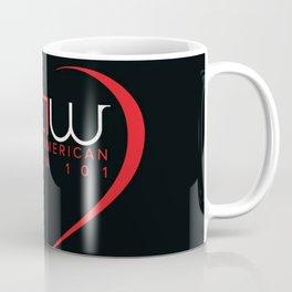 AAW101 Black Coffee Mug