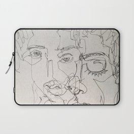 Blind Contour Laptop Sleeve