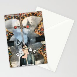 The King of Swords Stationery Cards