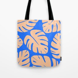 Monstera Leaf Print 5 Tote Bag