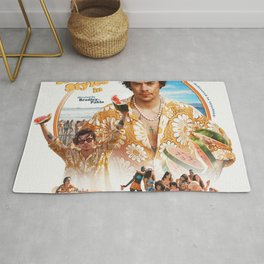 Harry Style Poster Styles Album Cover Art Rug
